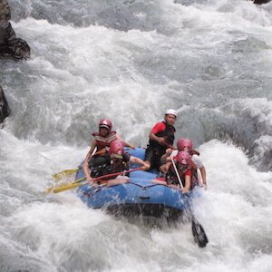 Class 5 whitewater rafting rapids example