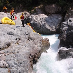 Class 6 whitewater rafting rapids example