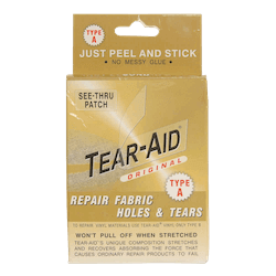 Tear aid patch