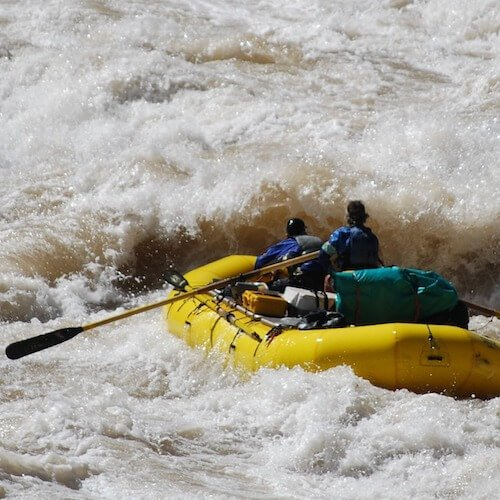 Whitewater rafting competitions