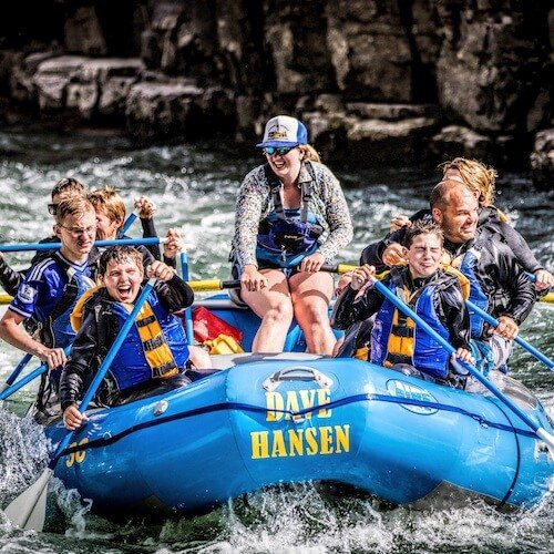 Whitewater rafting outfitters